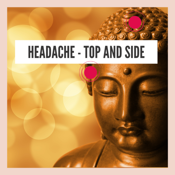 Headache – on top and on sides of head