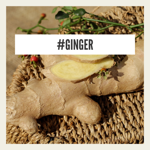 Ginger - natural remedy for cold symptoms