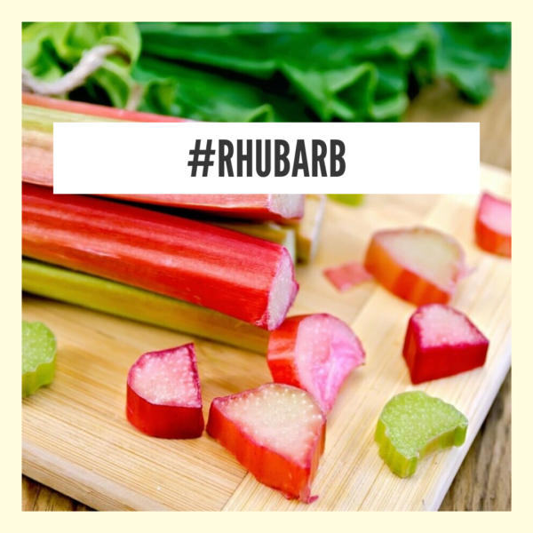 Rhubarb - natural remedy for constipation