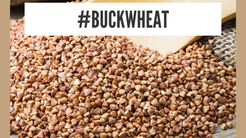 Buckwheat removes excessive mucus